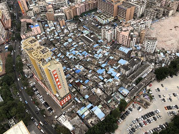 Birds eye view of Hubei Old Village