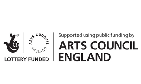 Lottery Funded – Arts Council England